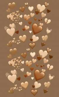Brown Heart Wallpapers 8