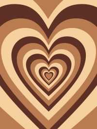 Brown Heart Wallpapers 9