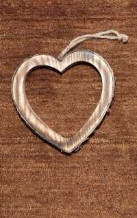 Brown Heart iPhone Wallpaper 2