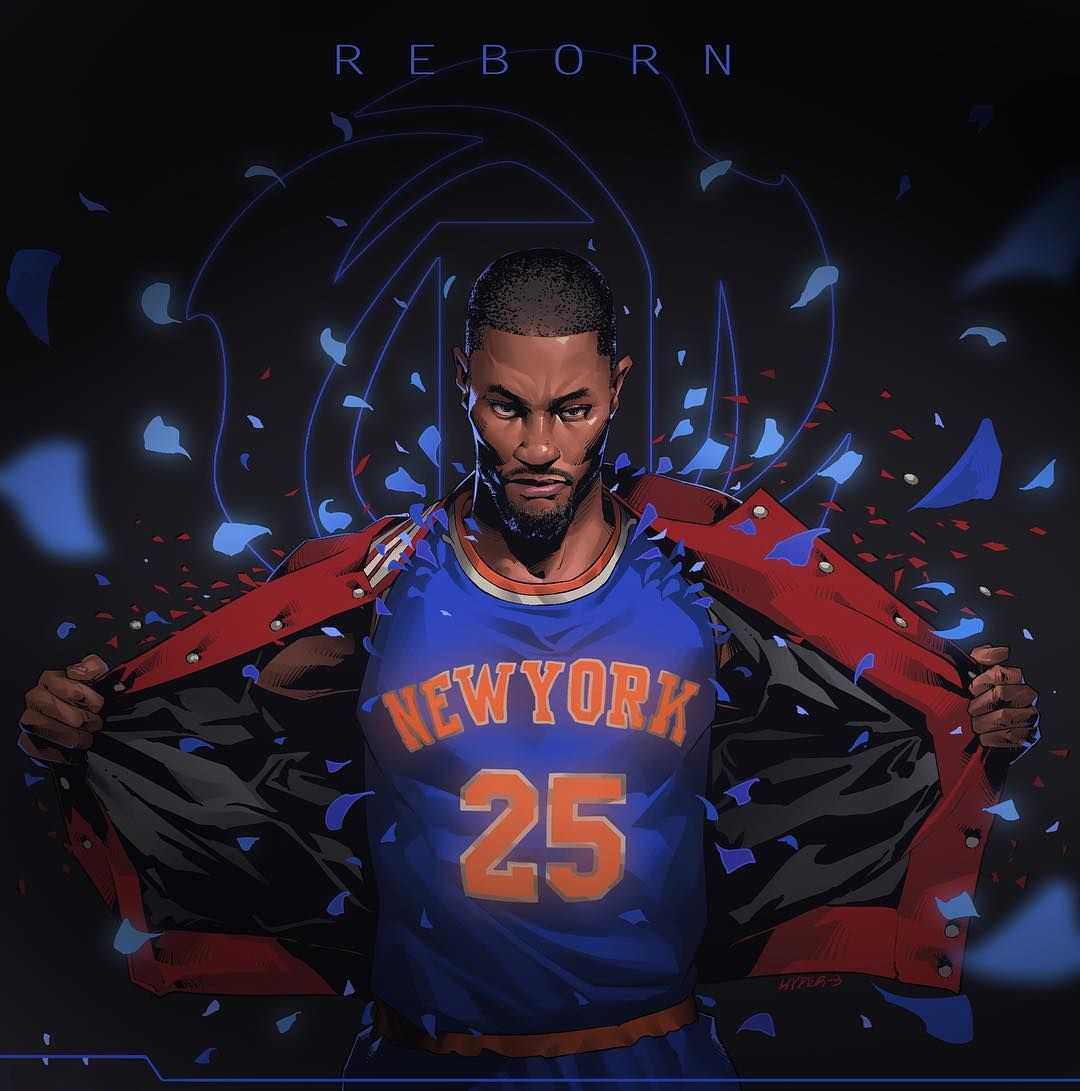 Derrick Rose Knicks Wallpaper 1