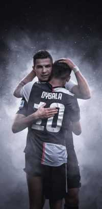 Dybala and Ronaldo Wallpaper 1