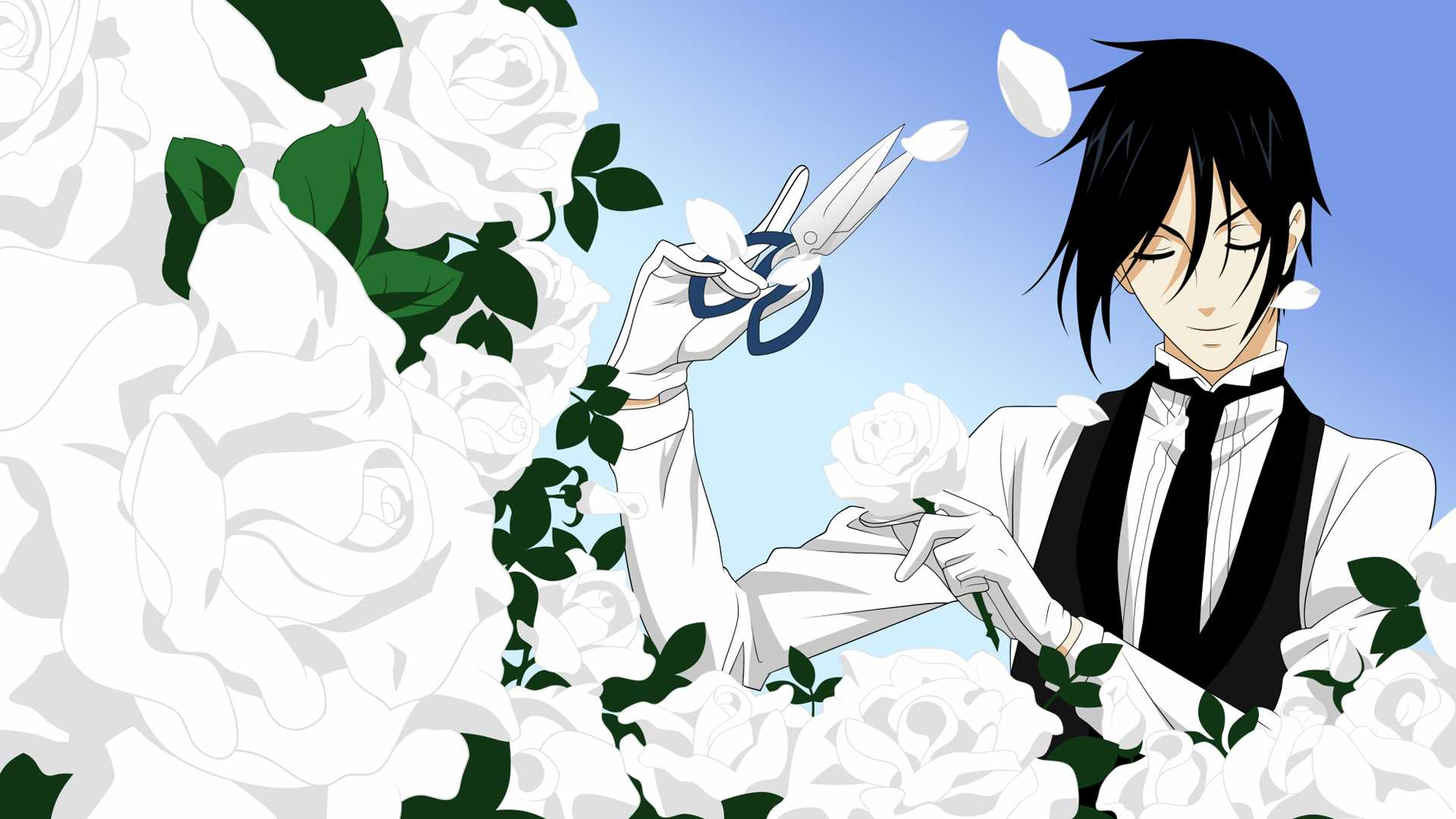HD Sebastian Black Butler Wallpaper 1