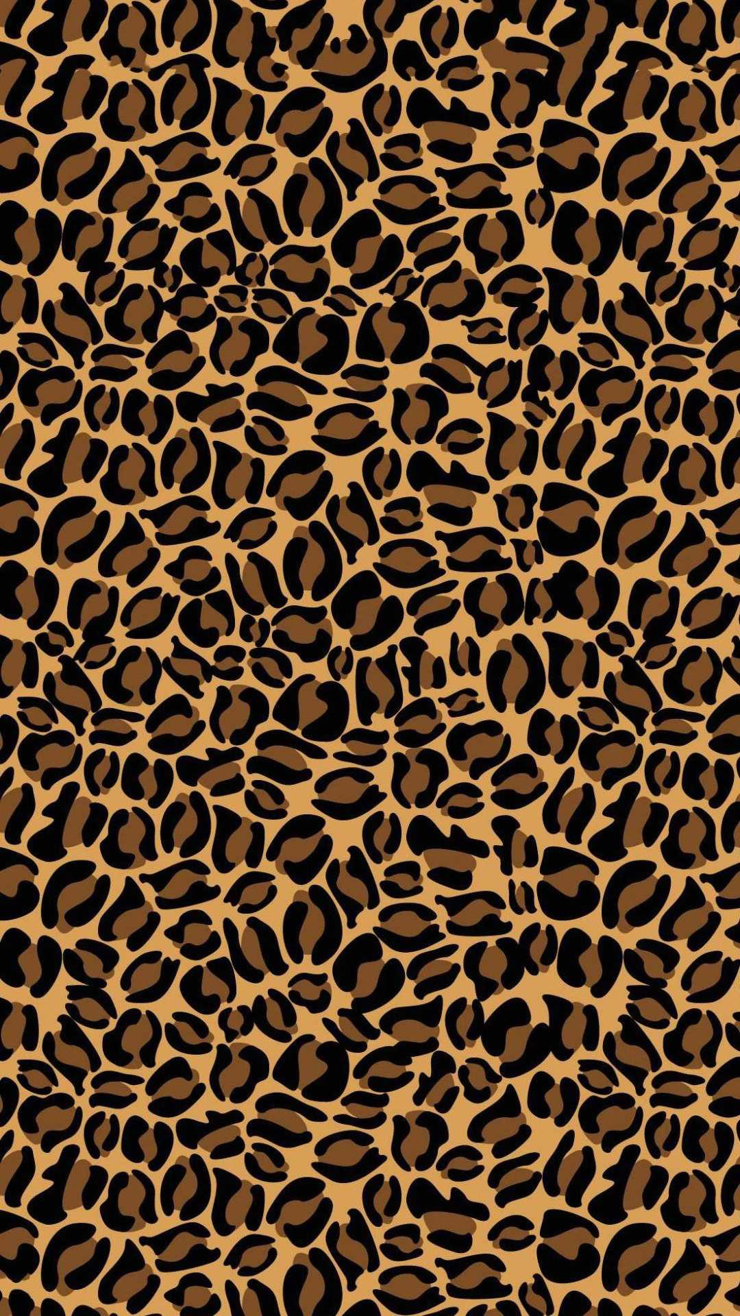 Leopard Print Wallpaper 1
