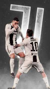Ronaldo and Dybala Wallpaper 9