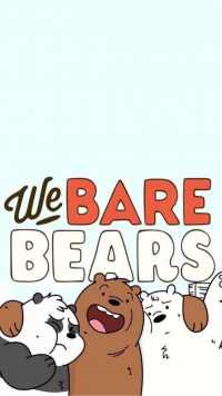 We Bare Bears Wallpaper iPhone 9