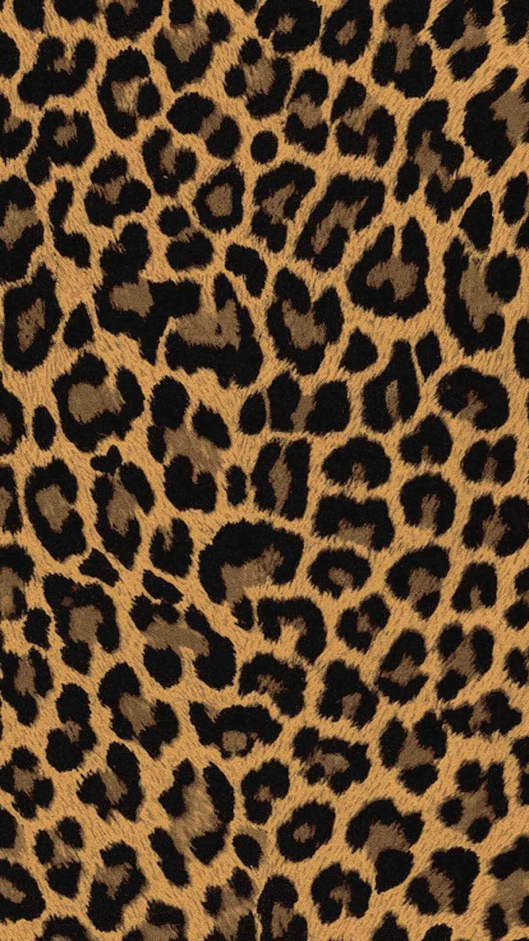 iPhone Leopard Print Wallpaper 1