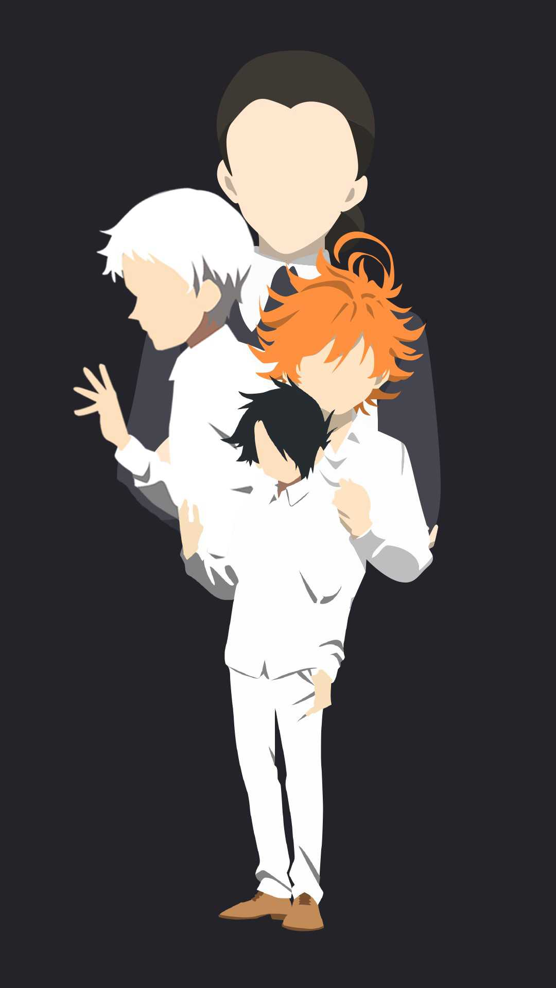 Promised Neverland Wallpaper iPhone 1
