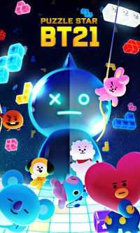 Puzzle Star BT21 Wallpaper 4