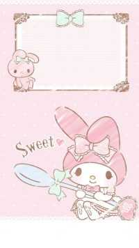 Sweet My Melody Wallpaper 5