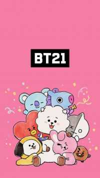 Wallpaper BT21 3