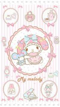 Wallpaper My Melody 3