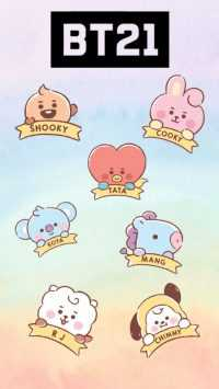 iPhone BT21 Wallpaper 8