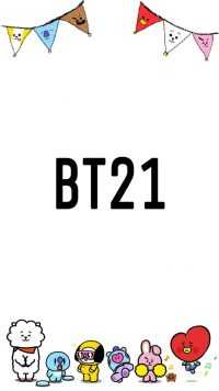 iPhone BT21 Wallpaper 7