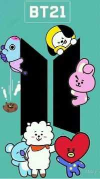 iPhone BT21 Wallpapers 6