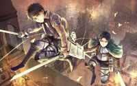 Eren Yeager Levi Ackerman Wallpaper 2