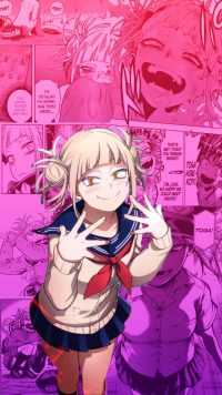 Himiko Toga Wallpaper Phone 4