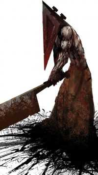 Pyramid Head iPhone Wallpaper 2