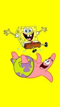Spongebob and Patrick Wallpaper 8