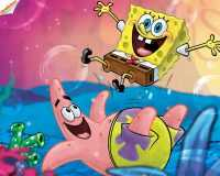 Spongebob and Patrick Wallpaper 3
