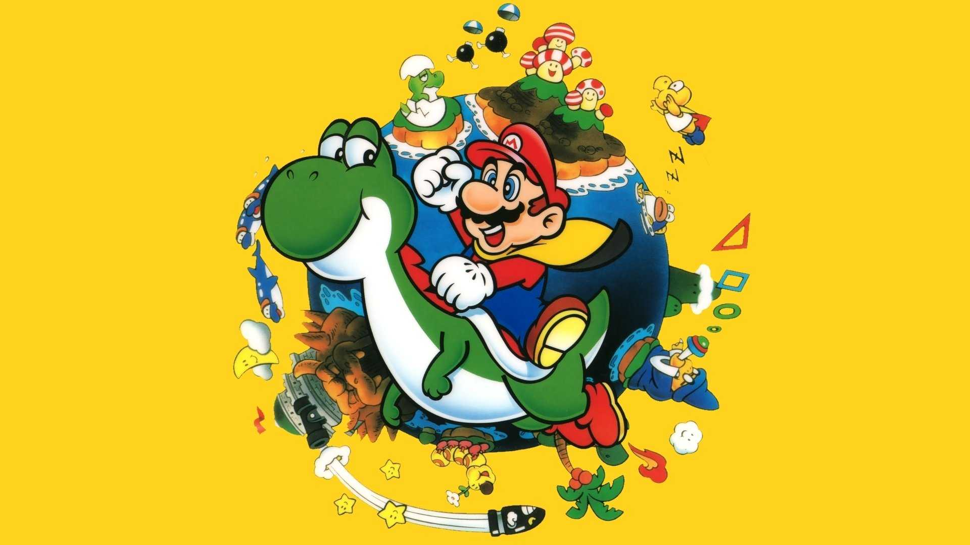 Wallpaper Super Mario 1