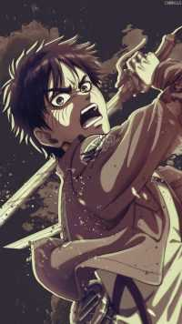 iPhone Eren Yeager Wallpaper 6