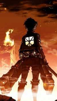 iPhone Eren Yeager Wallpaper 3