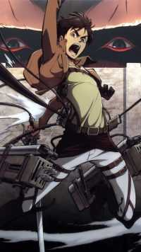 iPhone Eren Yeager Wallpapers 2
