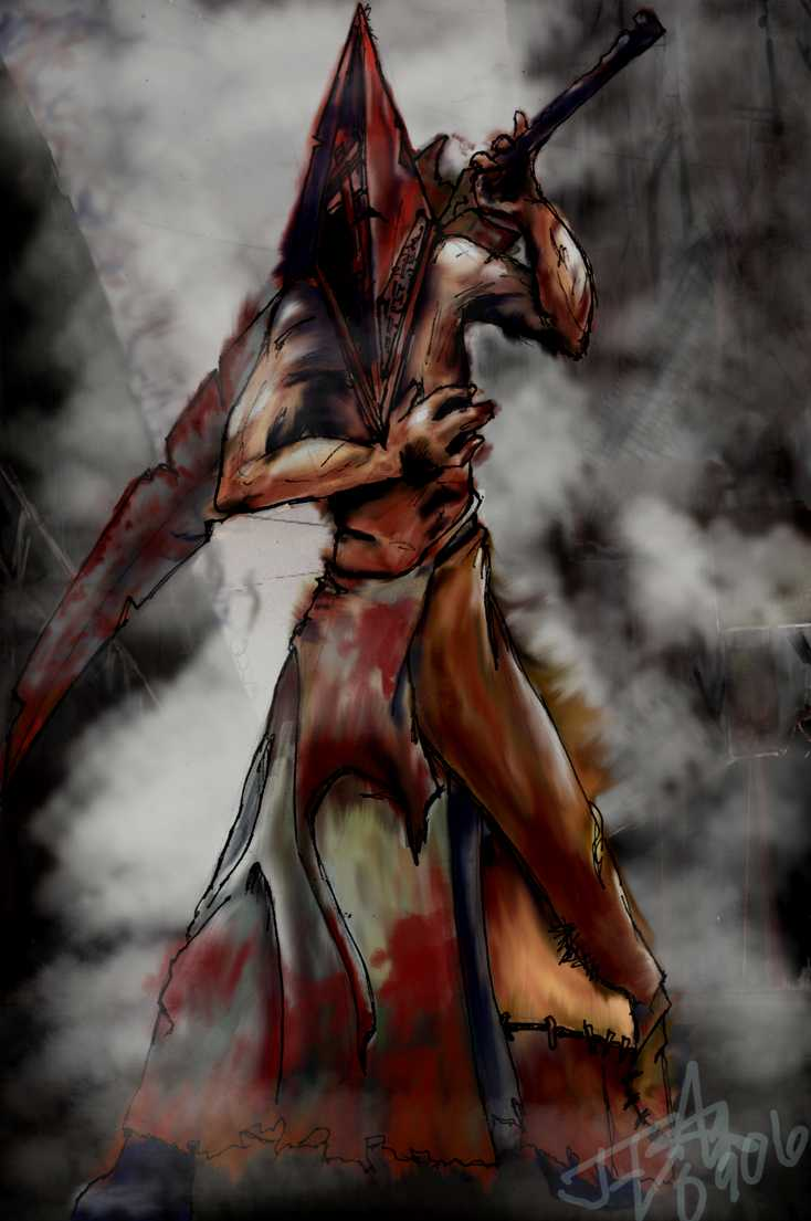 iPhone Pyramid Head Wallpaper 1
