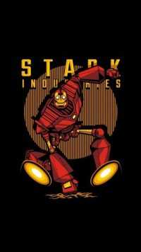 iPhone Stark Industries Wallpaper 1