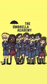 iPhone Umbrella Academy Wallpapers 2