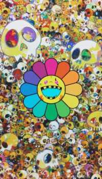 Murakami Flower Wallpaper 4